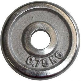 Acra Závaží chromové 0,75 kg / tyč 25 mm
