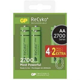 GP Recyko HR6 (AA) 2700mAh 4+2ks