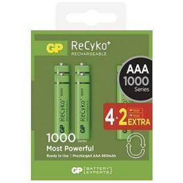 GP Recyko HR03 (AAA) 930mAh 4+2ks