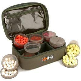 FOX FX Glug Pot Case (inc 4 x tinted full pots and 4 x half pots)