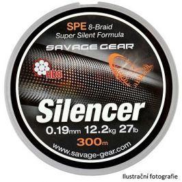 Savage Gear - HD8 Silencer Braid 0,36 mm 70 lbs 32kg 120m Zelená