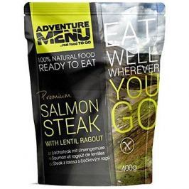 AdventureMenu - Steak z lososa s čočkovým ragů
