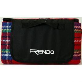 Frendo Picnic Rug-Acrylic 2 Červená