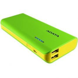 ADATA PT100 Power Bank 10000mAh zeleno-žlutá