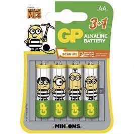 GP Minion LR6 (AA) 3+1ks v blistru