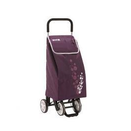 GIMI Twin fialový nákupní vozík 56 l