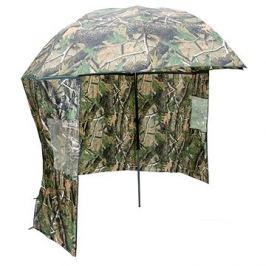 NGT Camo Brolly with Side Sheet 2,2m