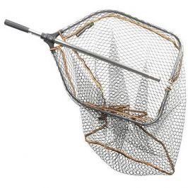 Savage Gear Podběrák Pro Folding Rubber Large Mesh Landing Net L