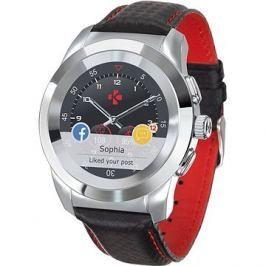 MyKronoz ZeTime Premium Silver/Black Carbon- 44 mm