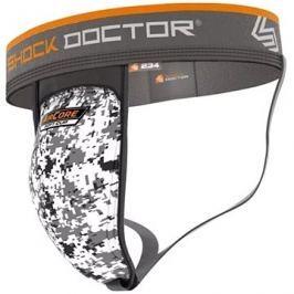Shock Doctor suspenzor se Soft Cup vložkou 234, bílá L