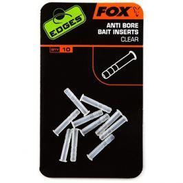 FOX Edges Anti-bore Bait Inserts Clear 10ks