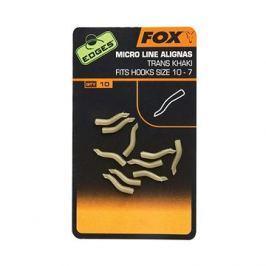 FOX Edges Micro Line Alignas Velikost 10-7 Trans Khaki 10ks