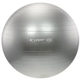 Lifefit anti-burst 55 cm, stříbrný