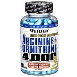 Weider Arginine + Ornithine 4000 180kapslí