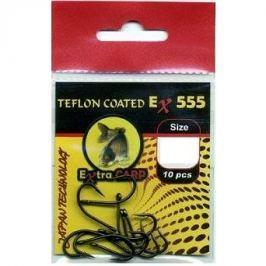 Extra Carp Teflon Hooks EX 555 Velikost 6 10ks