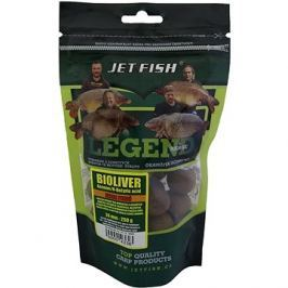 Jet Fish Extra tvrdé boilie Legend Bioliver + Ananas/N-Butric Acid 24mm 250g