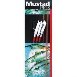 Mustad 3 Hook Sea Flector Mackerel Trace T4A Velikost 1/0