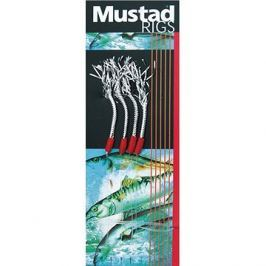 Mustad 4 Hook Tinsel Mackerel Trace T5 Velikost 3/0