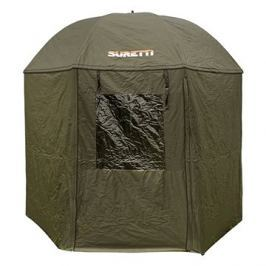 Suretti Deštník s bočnicí 2,5m Full Cover 210D