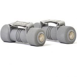 Reebok Jednoručky s páskem 2kg, Softgrip hand Weights