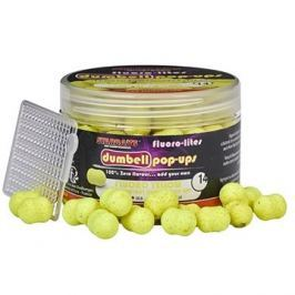 Starbaits Dumbells Pop-Up Fluoro Lite 14mm 80g Žlutá