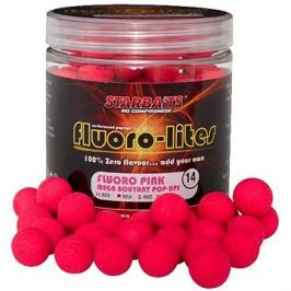 Starbaits Pop-Up Fluoro Lite 14mm 80g Růžová