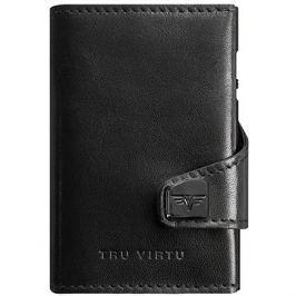 Tru Virtu Click and Slide - leather Nappa Black