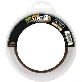 FOX Soft Tapered Leaders 0,37-0,57mm 16-35lb 3x12m Trans Khaki