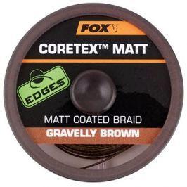 FOX Matt Coretex 25lb 20m Gravelly Brown
