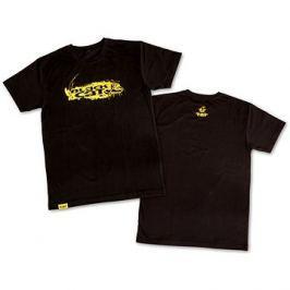 Black Cat T-Shirt Black Velikost XL