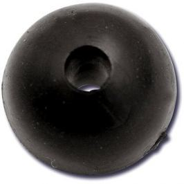 Black Cat Rubber Shock Bead 10mm 10ks