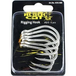 Black Cat Rigging Hook Velikost 8/0 6ks