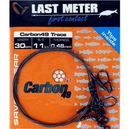Savage Gear Carbon49 Trace 0,48mm 11kg 30cm 3ks