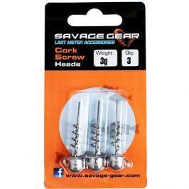 Savage Gear Cork Screw Heads 3g 3ks