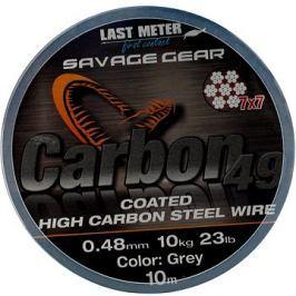 Savage Gear Carbon49 0,48mm 11kg 24lb 10m Coated Grey
