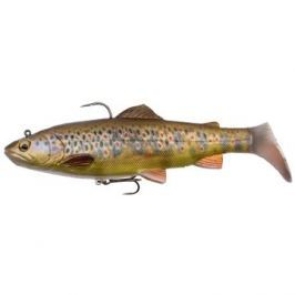 Savage Gear 4D Trout Rattle Shad 17cm 80g Dark Brown Trout