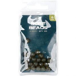 Nash Bore Beads 6mm 20ks