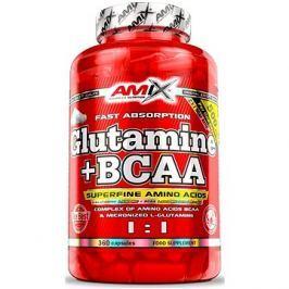 Amix Nutrition L-Glutamin + BCAA, 360cps