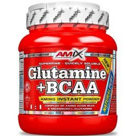 Amix Nutrition L-Glutamin + BCAA, 500g, Natural