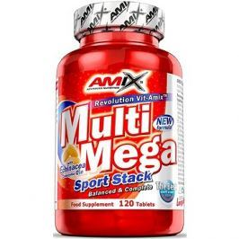 Amix Nutrition Multi Mega Stack, 120 tablet