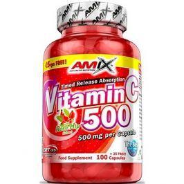 Amix Nutrition Vitamin C 500mg, 125cps