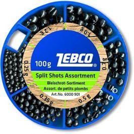 Zebco Split Shot Assortment Fine 100g