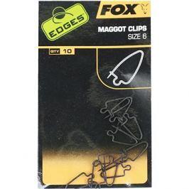FOX Maggot Clips Velikost 6 10ks