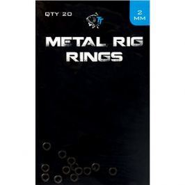 Nash Metal Rig Rings 2,0mm 20ks