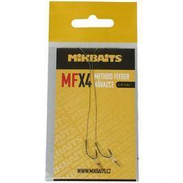 Mikbaits XXL Method Feeder návazec MFX Velikost 4 10cm 2ks