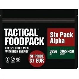 Tactical Foodpack Set 6x MRE Tactical Six Pack Alpha