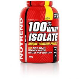 Nutrend 100% Whey Isolate, 1800 g, banán
