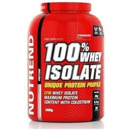 Nutrend 100% Whey Isolate, 1800 g, jahoda