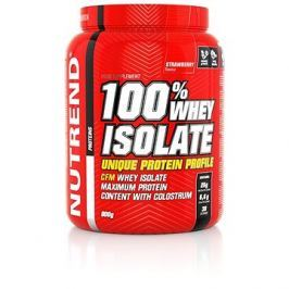 Nutrend 100% Whey Isolate, 900 g, jahoda