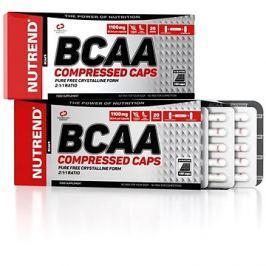 Nutrend BCAA Compressed caps, 120 kapslí,